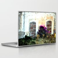 doors Laptop & iPad Skins featuring doors by  Agostino Lo Coco