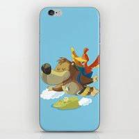 banjo iPhone & iPod Skins featuring Banjo by Rod Perich