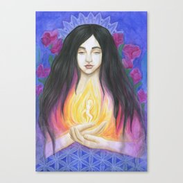The Goddess Within Canvas Print