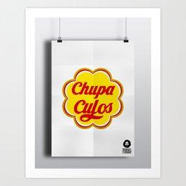 ChupaCulos Art Print