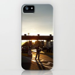 The Lake Maracaibo Bridge - IV iPhone Case