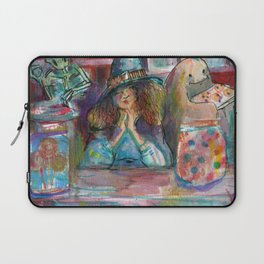 witch candy store Laptop Sleeve