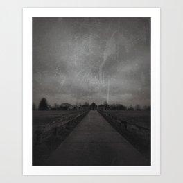 Payson Reservoir Art Print