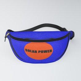 Solar power Fanny Pack