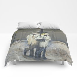Midnight in Paris Comforters