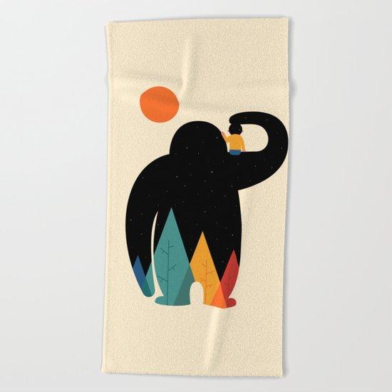 PaPa Beach Towel
