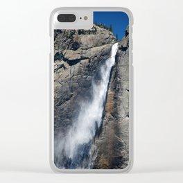 Yosemite park falls Clear iPhone Case
