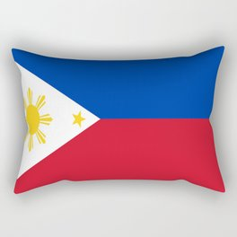 Flag of Philippines -Pilipinas,Filipinas,filipino,pinoy,pinay,Manila,Quezon Rectangular Pillow