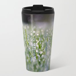 Dew Laden Grass 2 Travel Mug