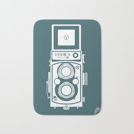 Yashica MAT 124G Camera Bath Mat