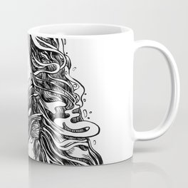 The Illustrated A Coffee Mug