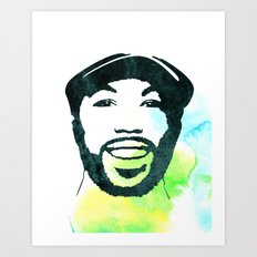 C' Art Print