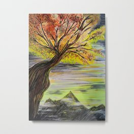 Over Looking Tree Metal Print