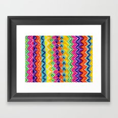 CRAYON LOVE: Cray Tribal Framed Art Print