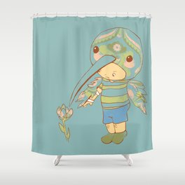 Hugo Shower Curtain