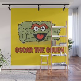Oscar the Couch Wall Mural