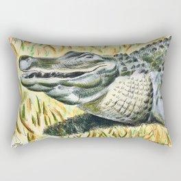 Gator Buddy Rectangular Pillow