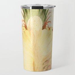Pineapple Sliced in Half Vintage Illustration Travel Mug