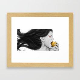 Goddess idun Framed Art Print