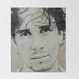 Jeff Buckley Throw Blanket