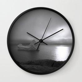 Iceberg (pinhole) Wall Clock