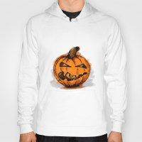 pumpkin Hoodies featuring Pumpkin by rafo