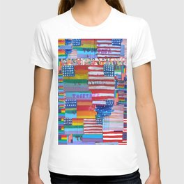 Flags For The Future Mash Up T-shirt