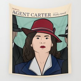 Agent Carter Wall Tapestry