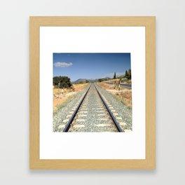 Train in Spain Framed Art Print