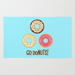Go doNUTS! Rug