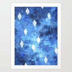 Starry Sea Art Print