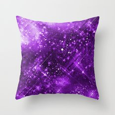 Dazzling Series (Purple) Throw Pillow
