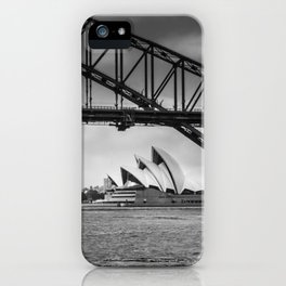 Bridge's, Bird's and Opera Houses iPhone Case