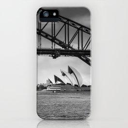 Bridge's, Bird's and Opera Houses iPhone Case