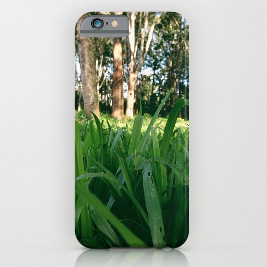 Bed of Grass iPhone & iPod Case