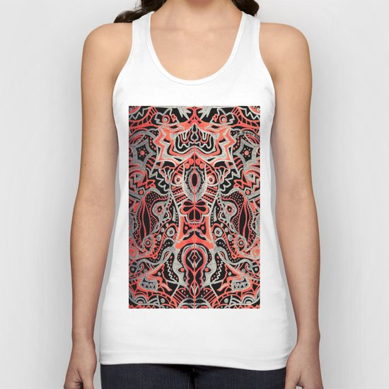 Courage of the Tigress Unisex Tank Top