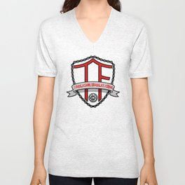 "Tables and Fables ""Shield"" Logo (version 1) Unisex V-Neck"