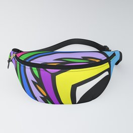 Ostrich Goes Pop Fanny Pack
