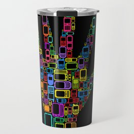Mobile Phones Hand Travel Mug