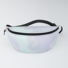 Holographic Marble x Purple Fanny Pack
