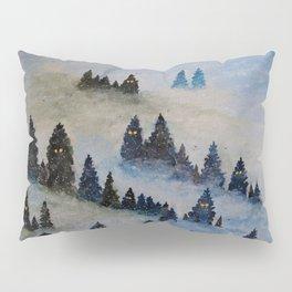 Trollen i snotackta skogen Pillow Sham
