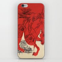 catcher in the rye iPhone & iPod Skins featuring Catcher by Julia Lopez