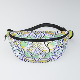 Green King Lion ecopop Fanny Pack