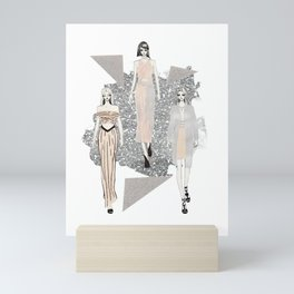 Fashionary 9 Mini Art Print