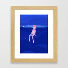 My lost galaxy Framed Art Print