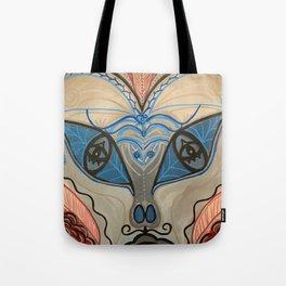 Lurking Mustache Tote Bag