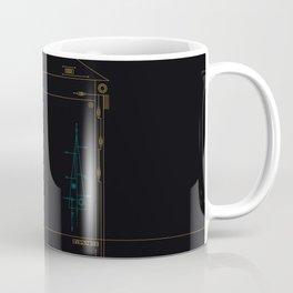 trigonal on black. Coffee Mug