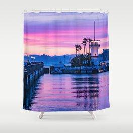 Forbes Island Light House Shower Curtain