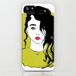 Starring girl iPhone Case