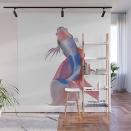 Emerge - Siamese Fighting Fish - #Art - #Painting - EWatercolor Print - Wall Mural